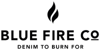 logo blue fire